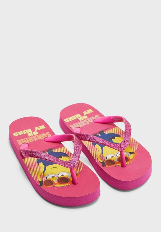 Kids Universal Minions Flip Flop