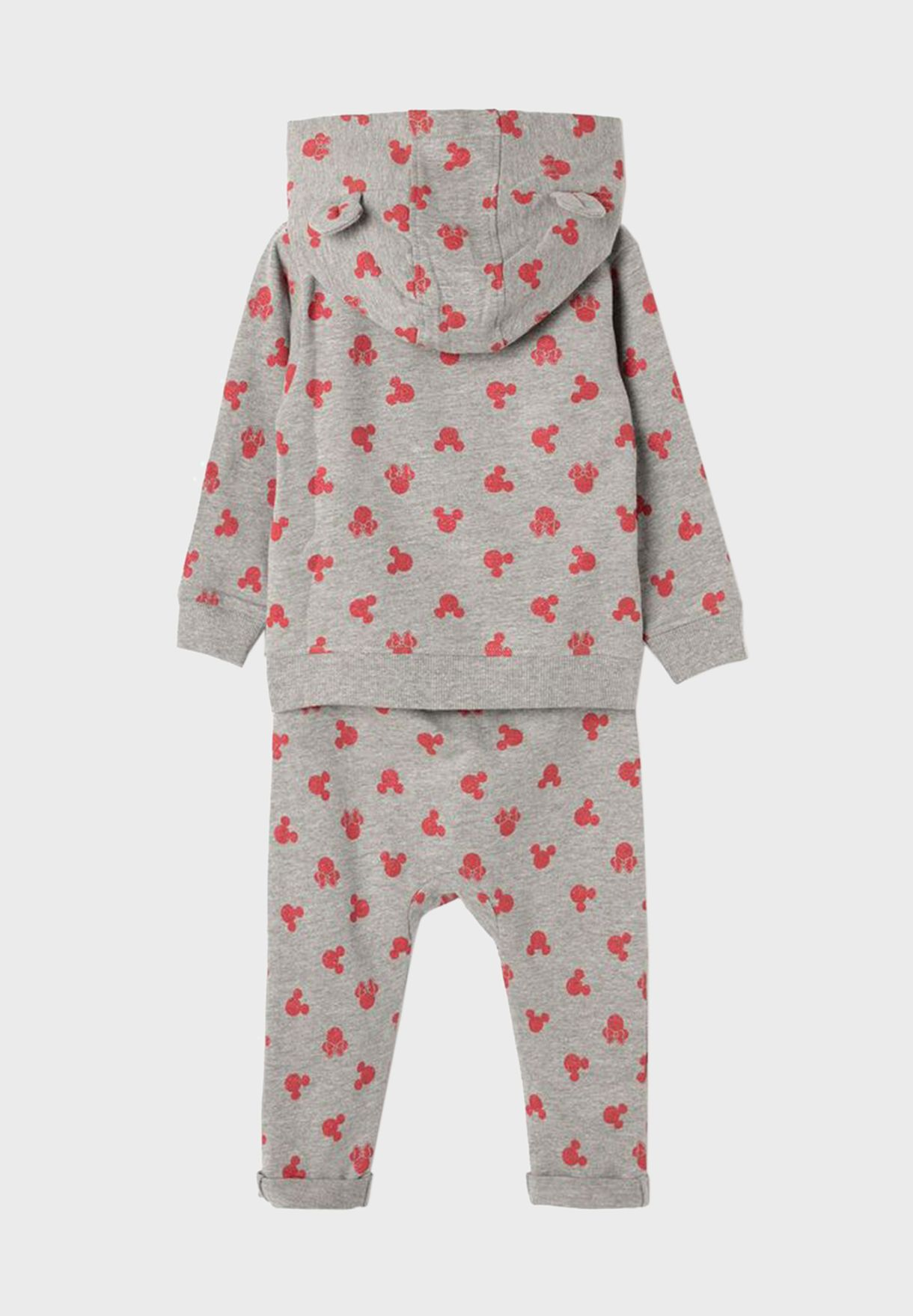 Infant Minnie Hoodie + Long Pyjama Set
