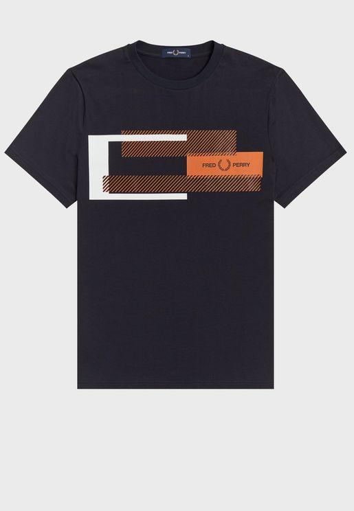 Tonal Stripe Polo Shirt