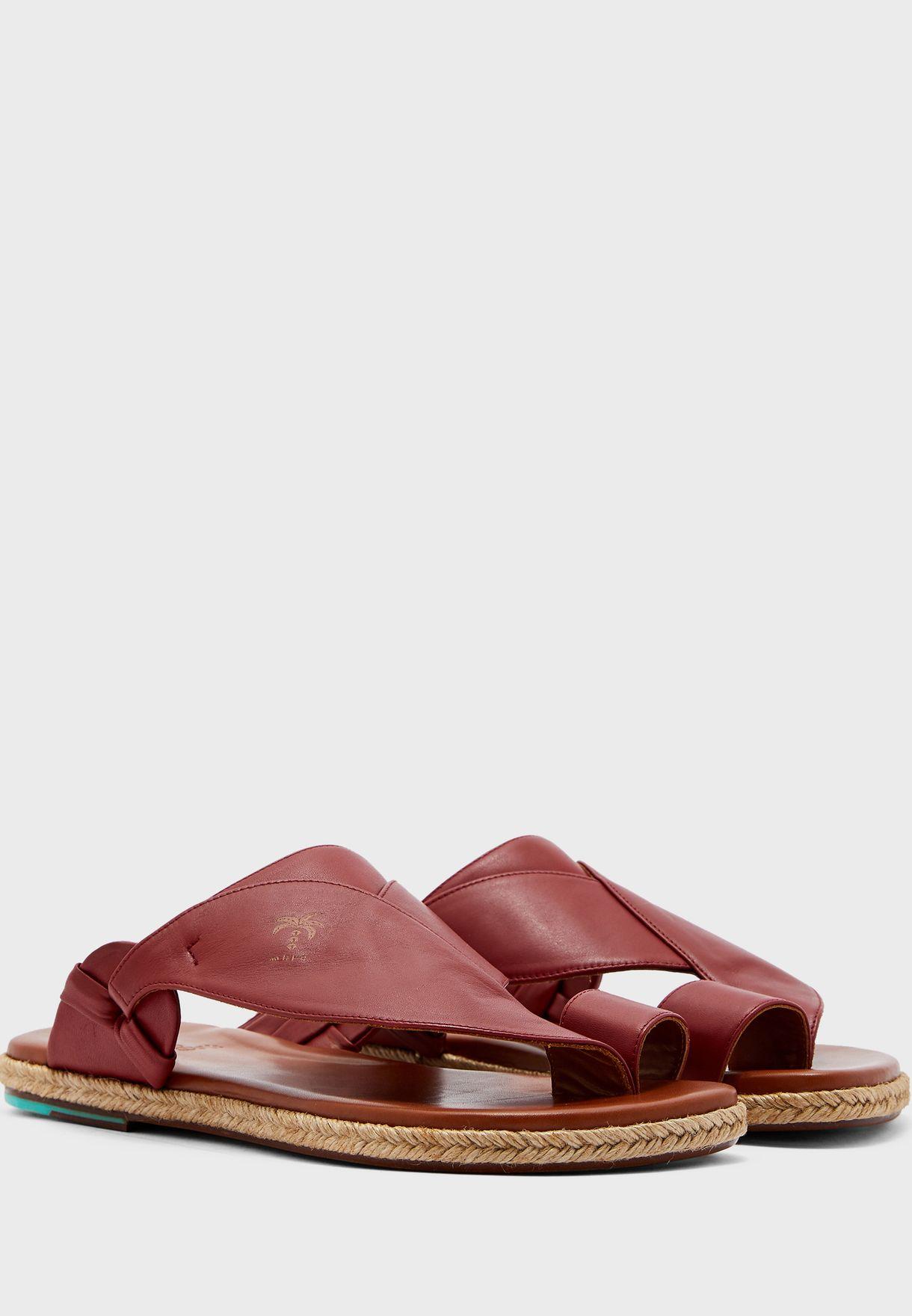 Karaba Wide Strap Sandals