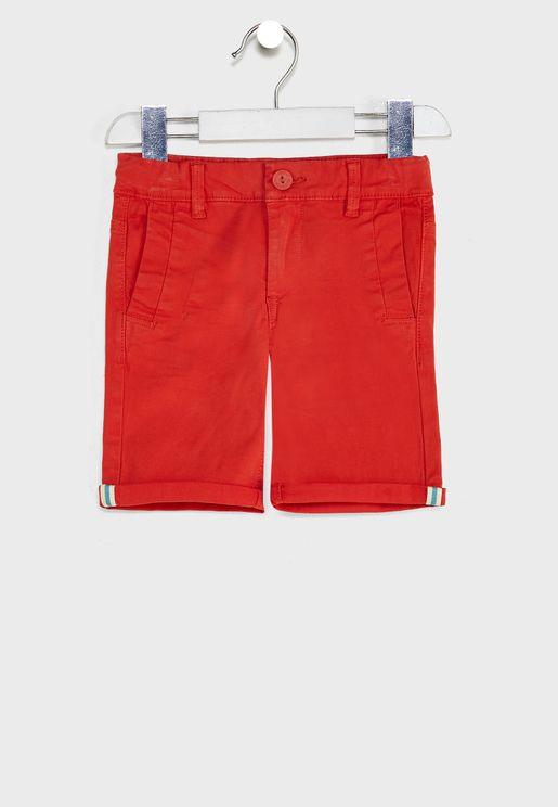 Kids Essential Chino Shorts