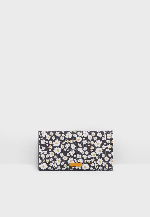 Marga Floral Print Purse