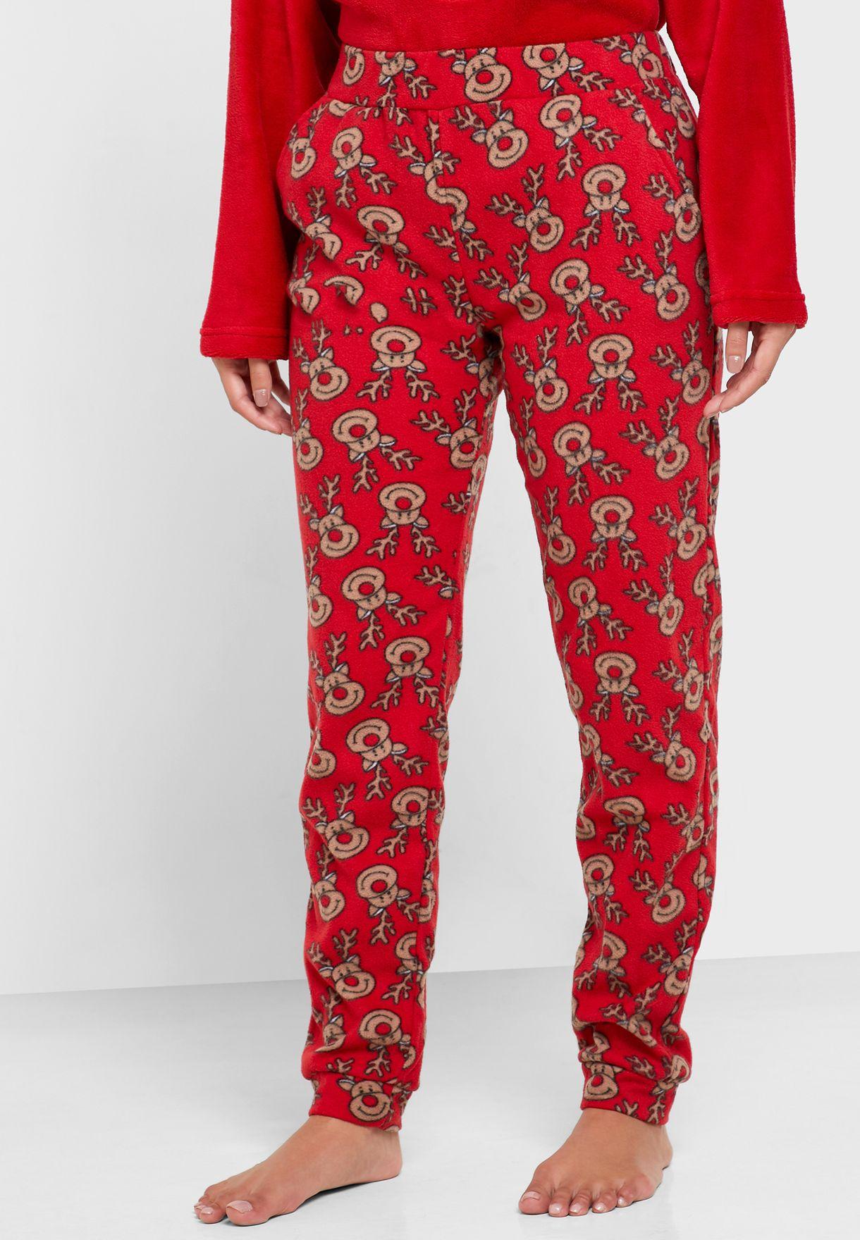 Christmas Reindeer Pyjama Set