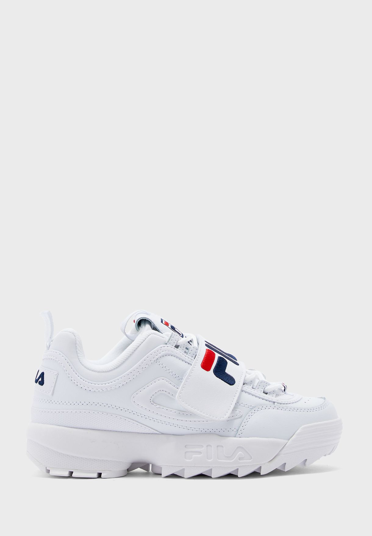 Fila Women/'s Disruptor Ii Applique Low Top Leather Running