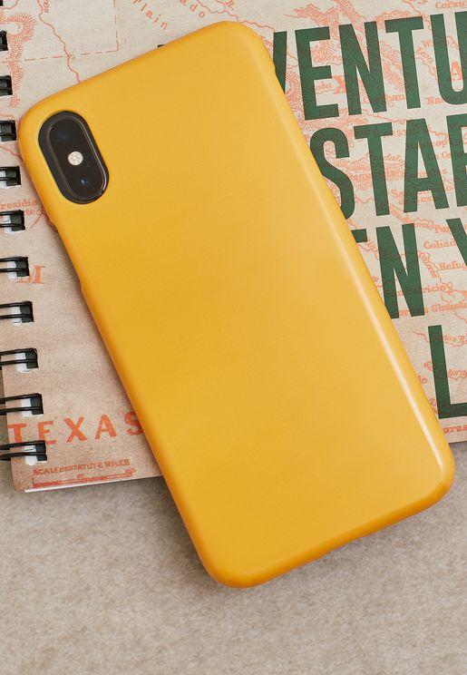 Block Mustard iPhone X/XS/XS Max/XR/11 Pro Case