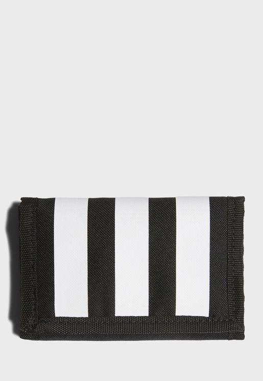 Essentials 3 Stripes Sports Wallet