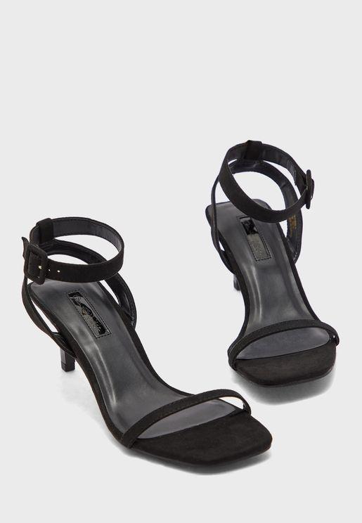 Shakira Ankle Strap High Heel Sandal