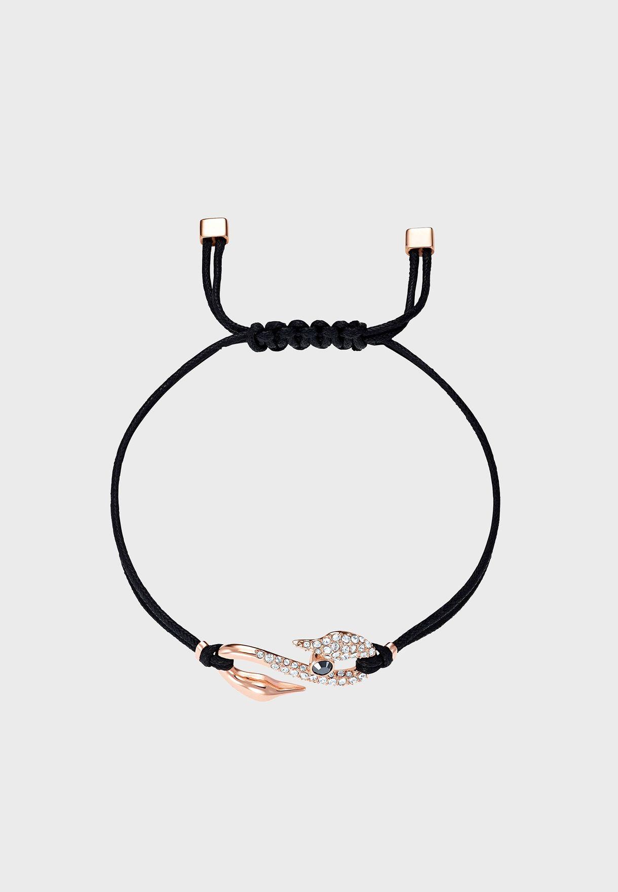 Swapower S Hook Jet/Cry Bracelet