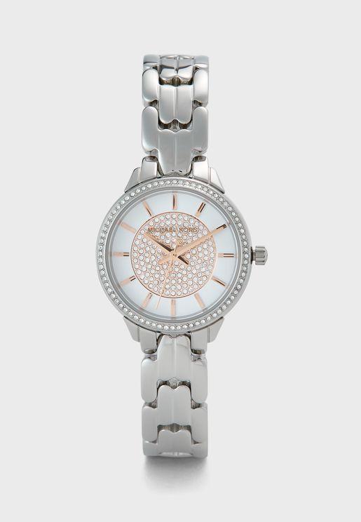 Allie Steel Strap Watch