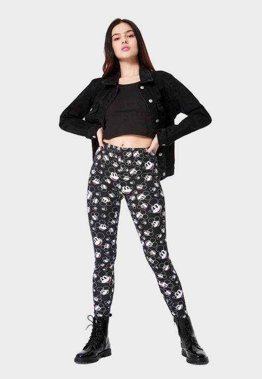 Mickey Printed Leggings