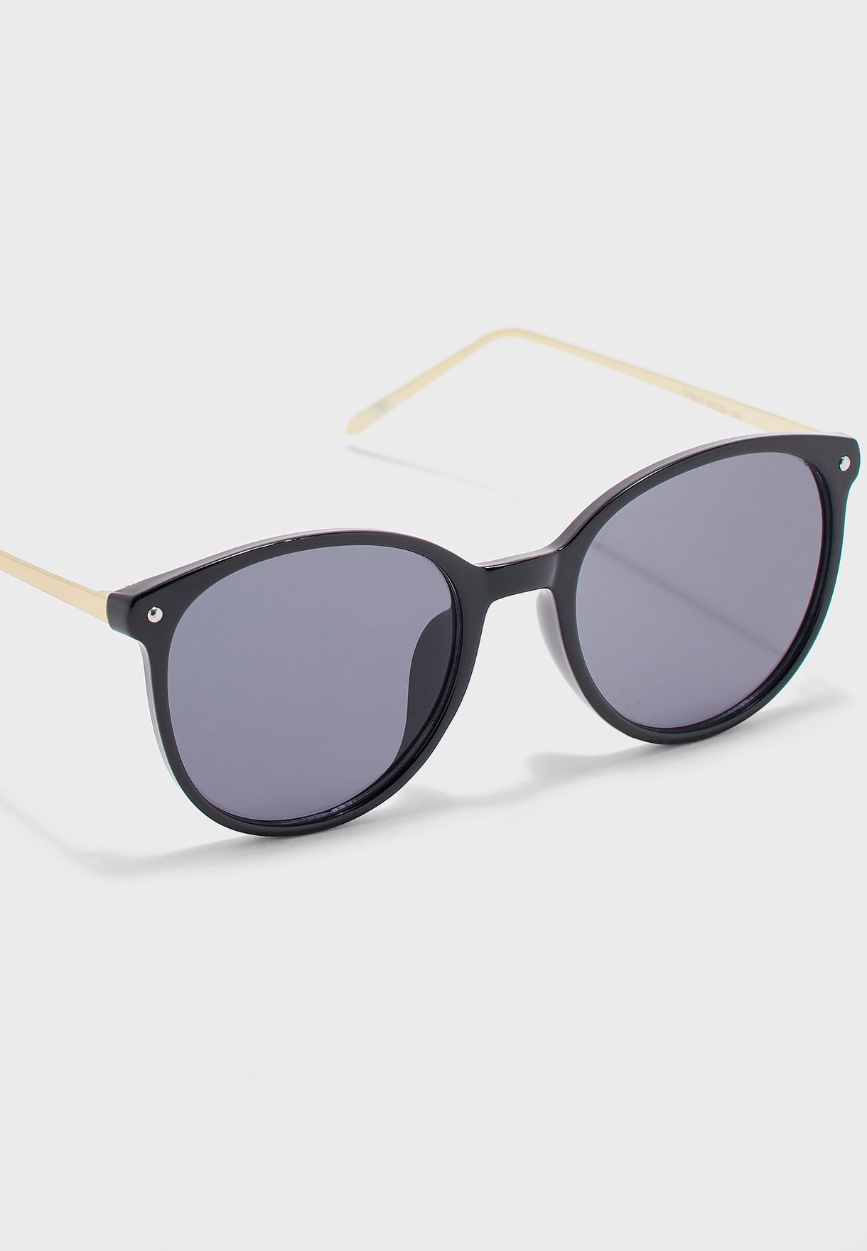 Metal Arm Wayfarer Sunglasses
