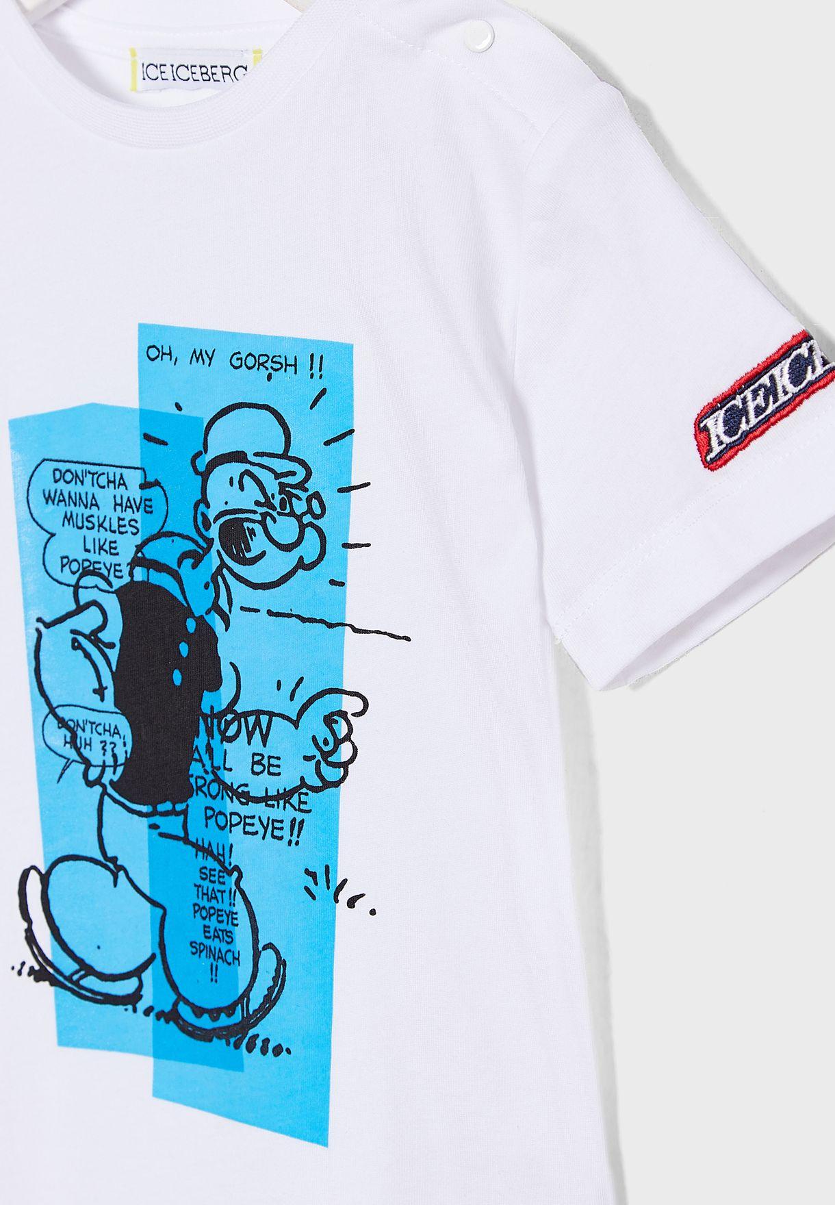 Kids Popeye T-Shirt