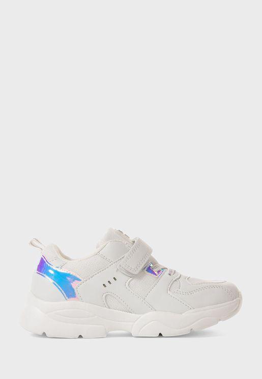 Kids High Top Velcro Sneaker