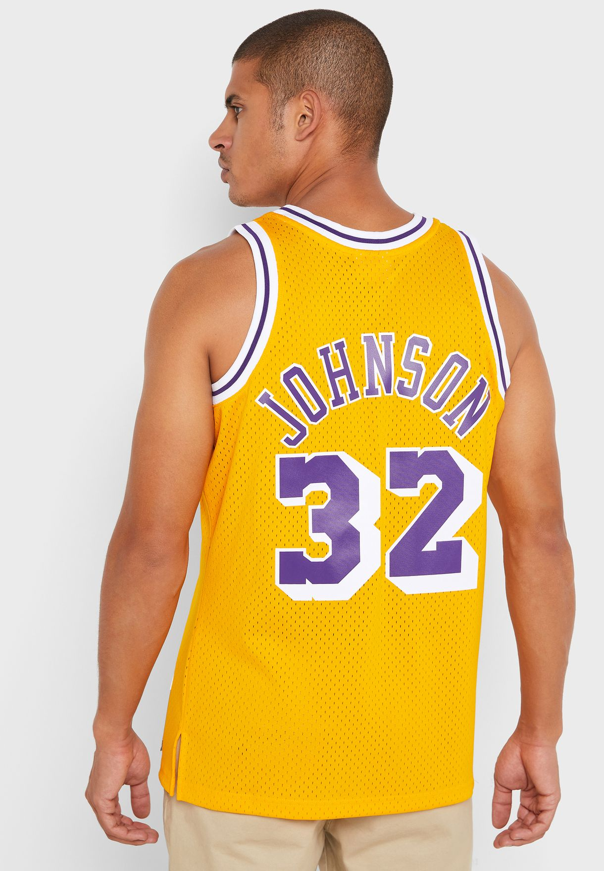 Los Angeles Lakers Magic Johnson Swingman T