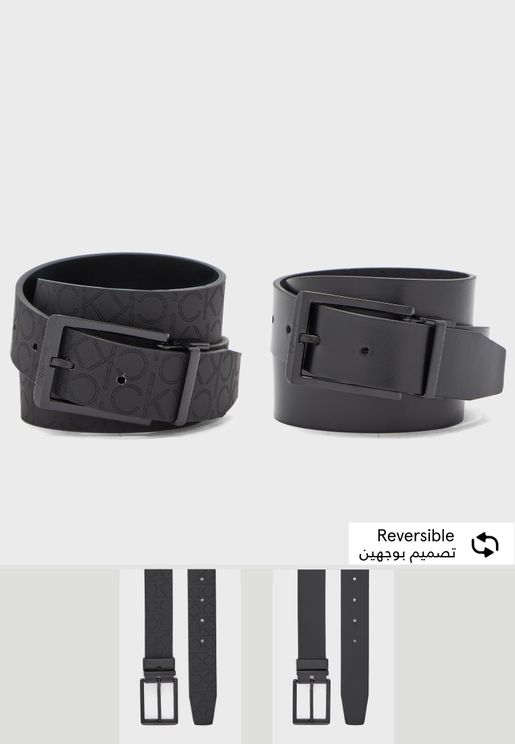 Skived Buckle Belt
