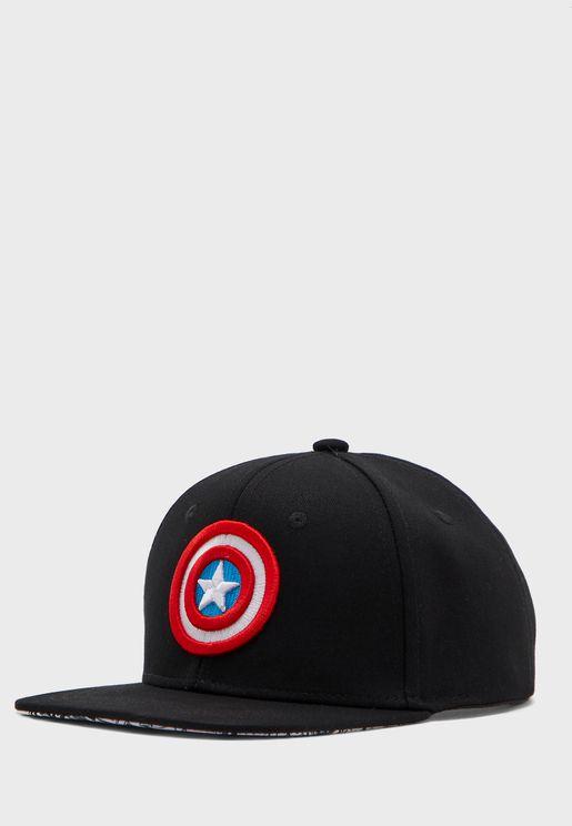 Kids Cpt. America Cap