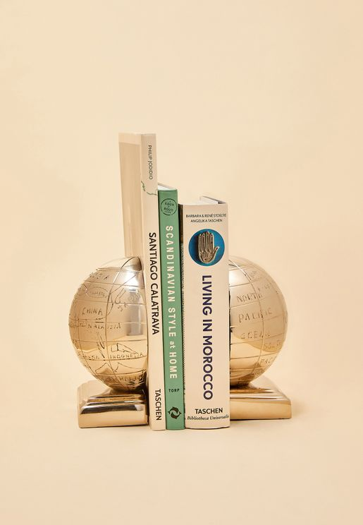 Churchill Globe Bookend