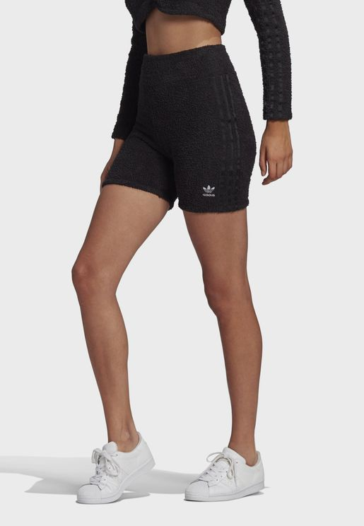 3 Stripe Knitted Shorts