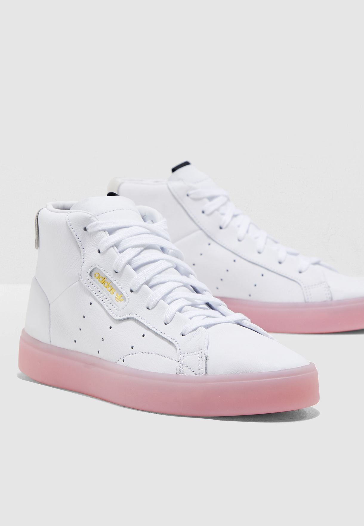 100% authentic 1e325 5ee8a Shop adidas Originals white Sleek Mid EE8612 for Women in UAE ...