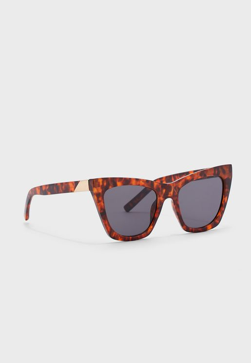 Zara Feline Oversized Sunglasses