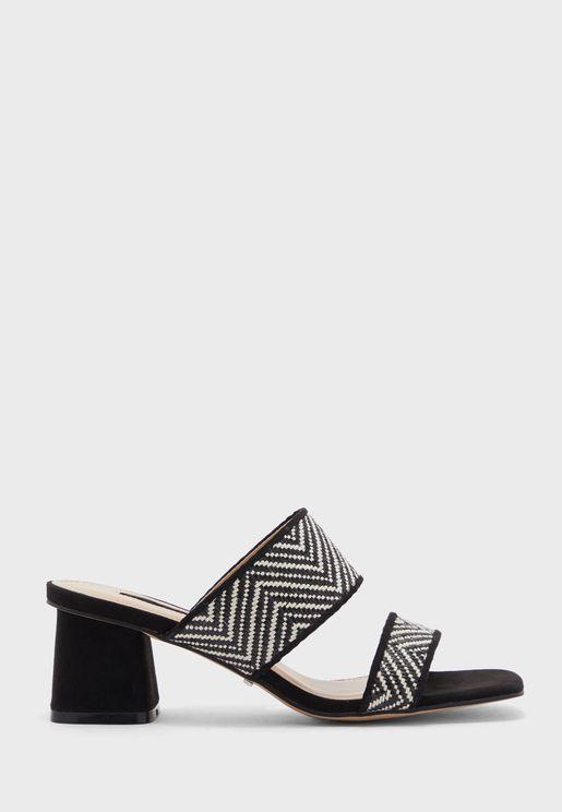 Dina Block Heel Sandal