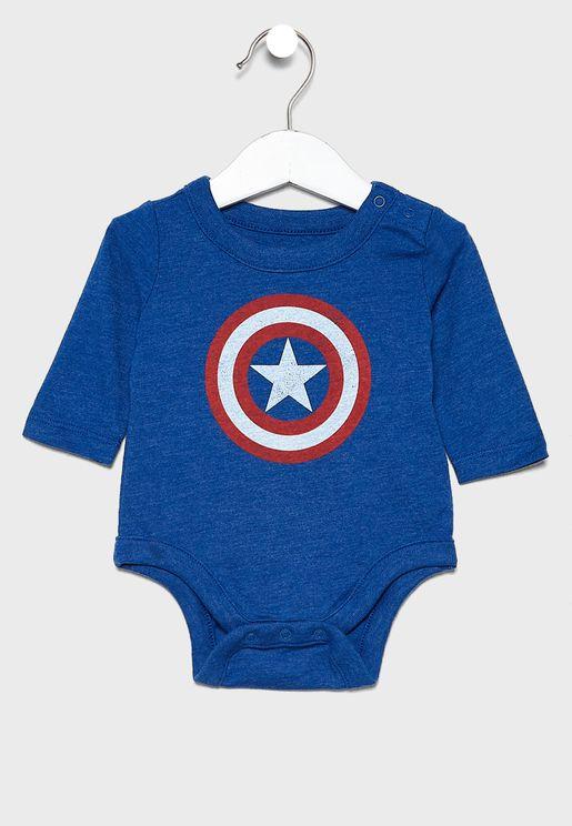 Infant Marvel Bodysuit