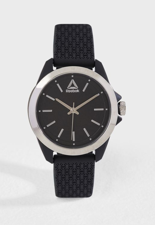 Prisma Silicon Strap Watch