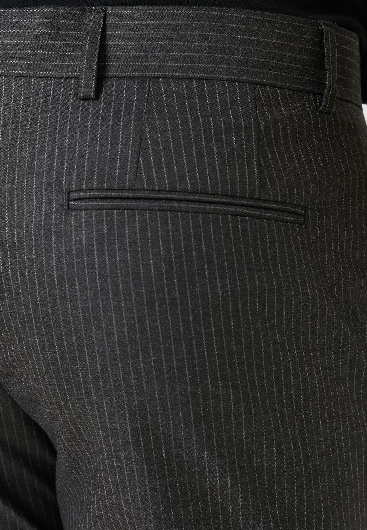 Pinstripe Skinny Fit Trousers