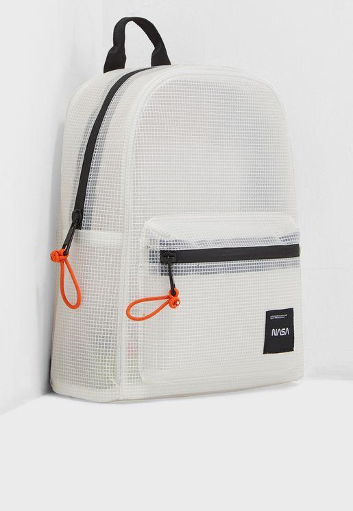 Nasa Translucent Backpack