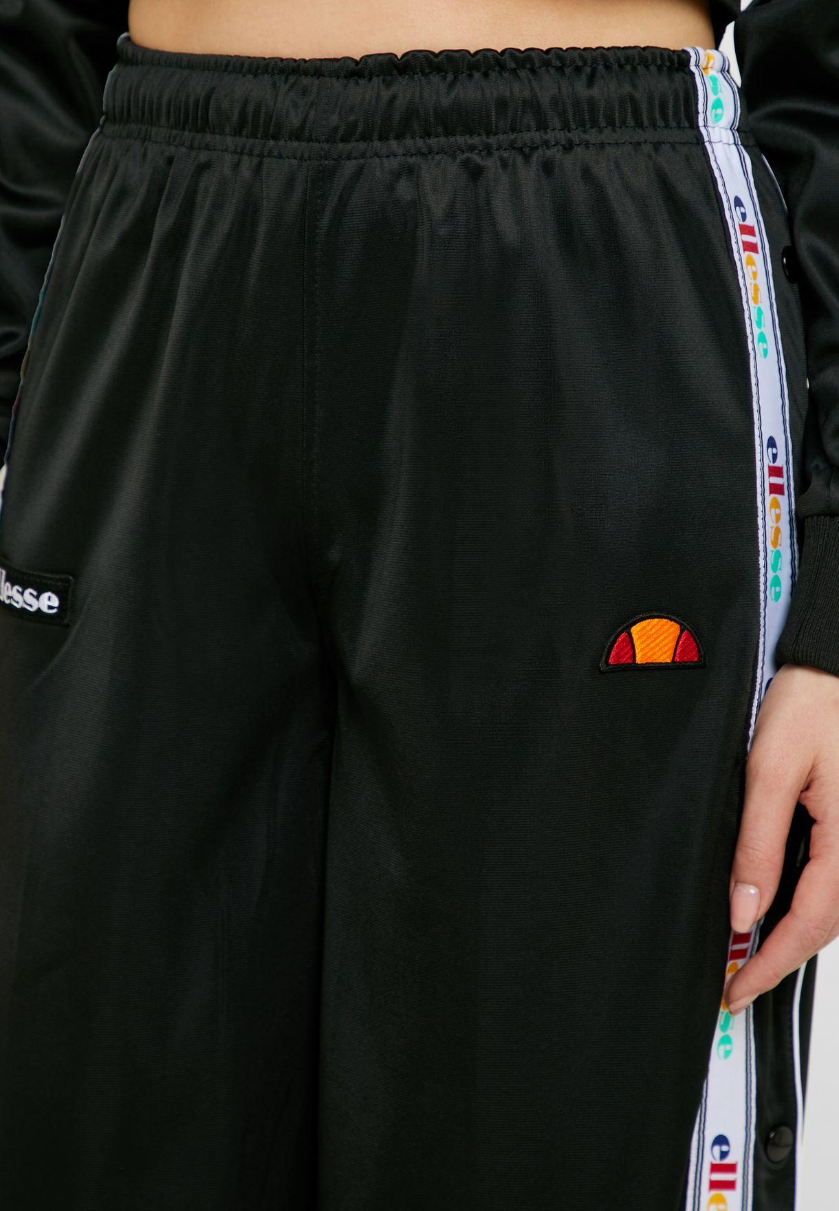 بنطال رياضي مزين بشعار الماركة