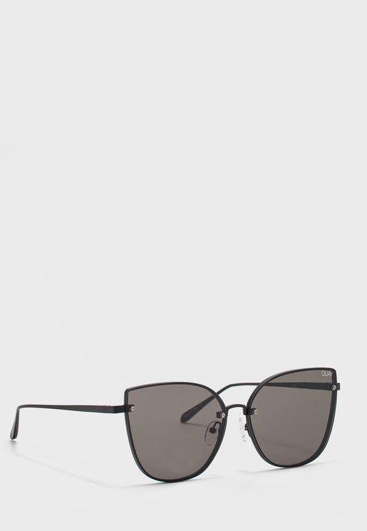 نظارة شمسية انيقة بنمط عين القط