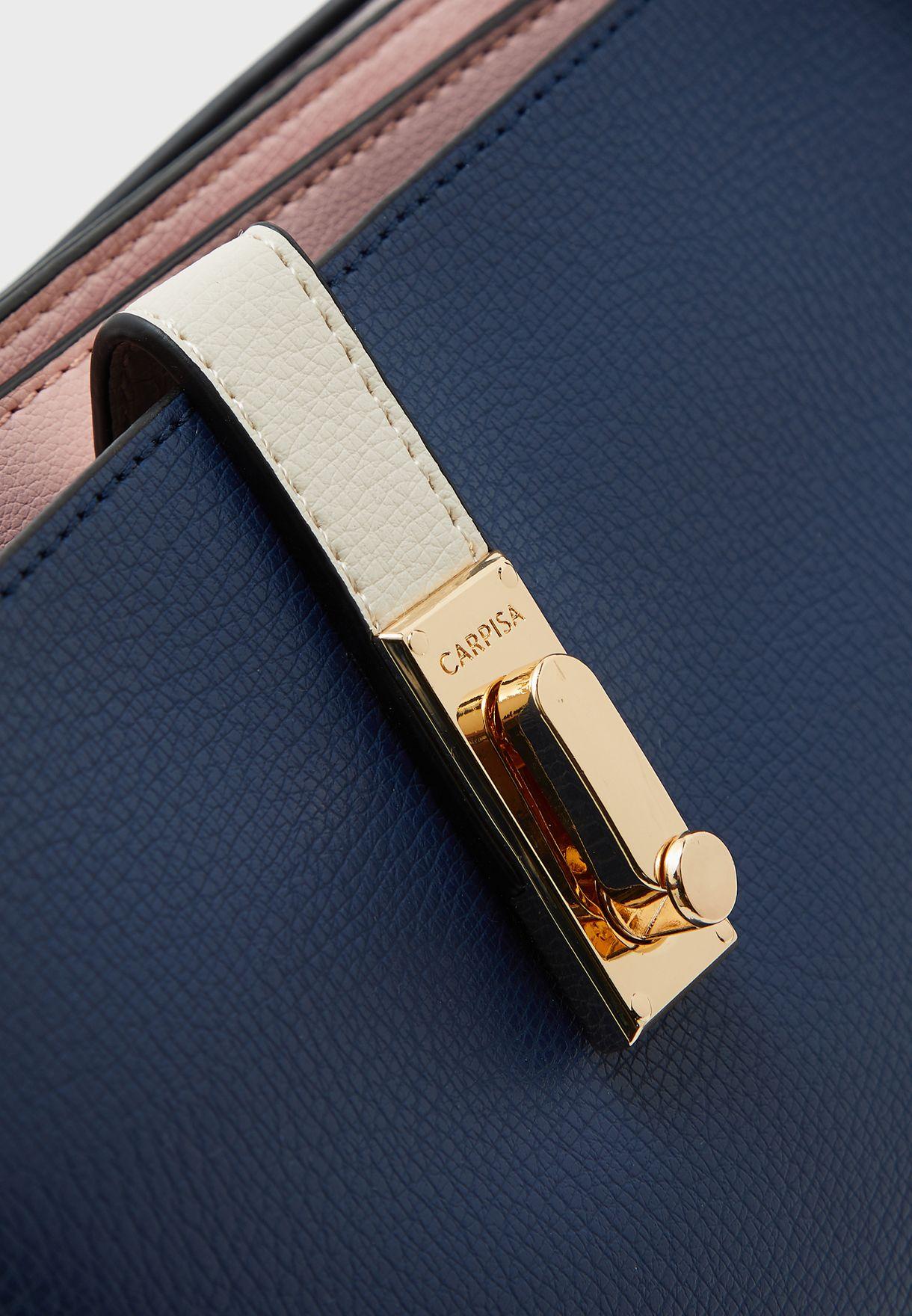 Pushlock Detail Crossbody