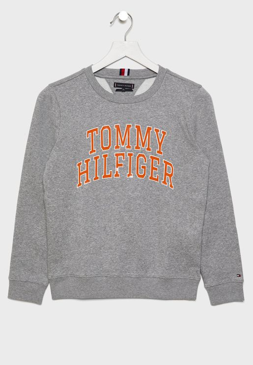 Teen Embroidered Logo Sweatshirt