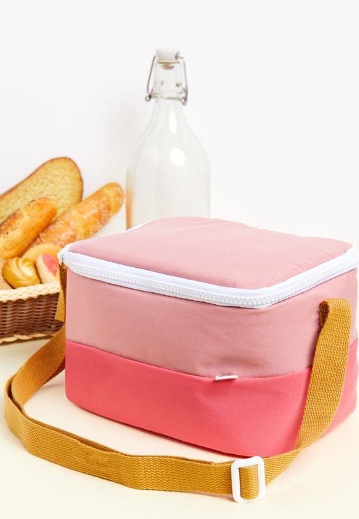 Kids Color Block Lunch Bag
