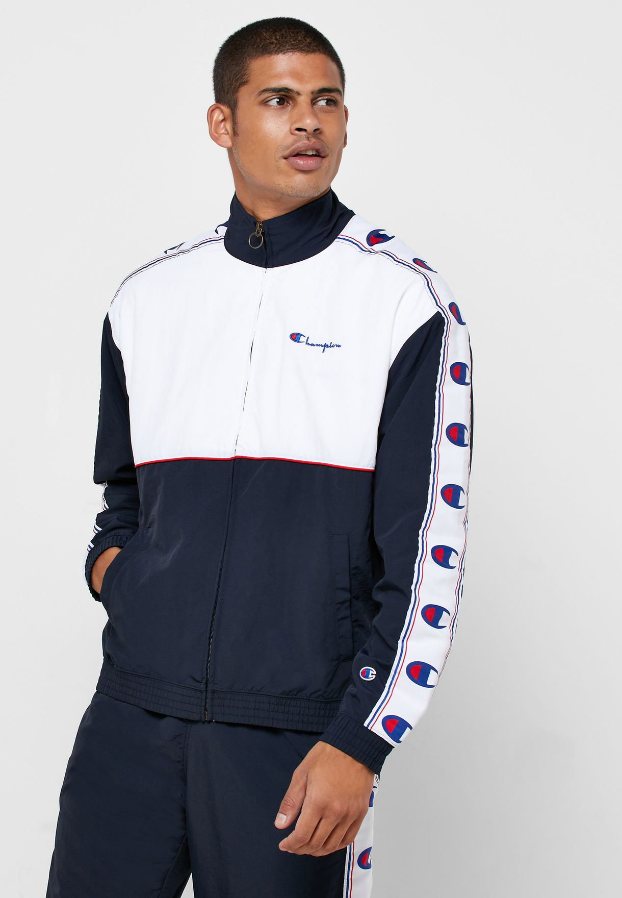 Peached Feel Track Jacket
