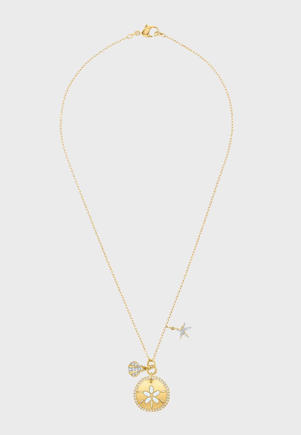 Ocean Sand Coin Necklace