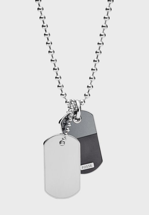 JF03179040 Tag Necklace