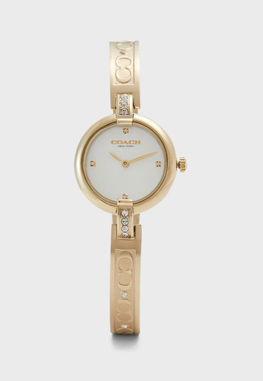 Chrystie Ionic Stainless Steel Watch