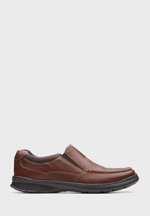 حذاء جلد اصلي محبب