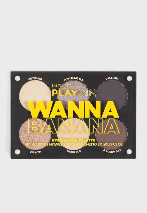 Playinn Wanna Eyeshadow Palette Banana