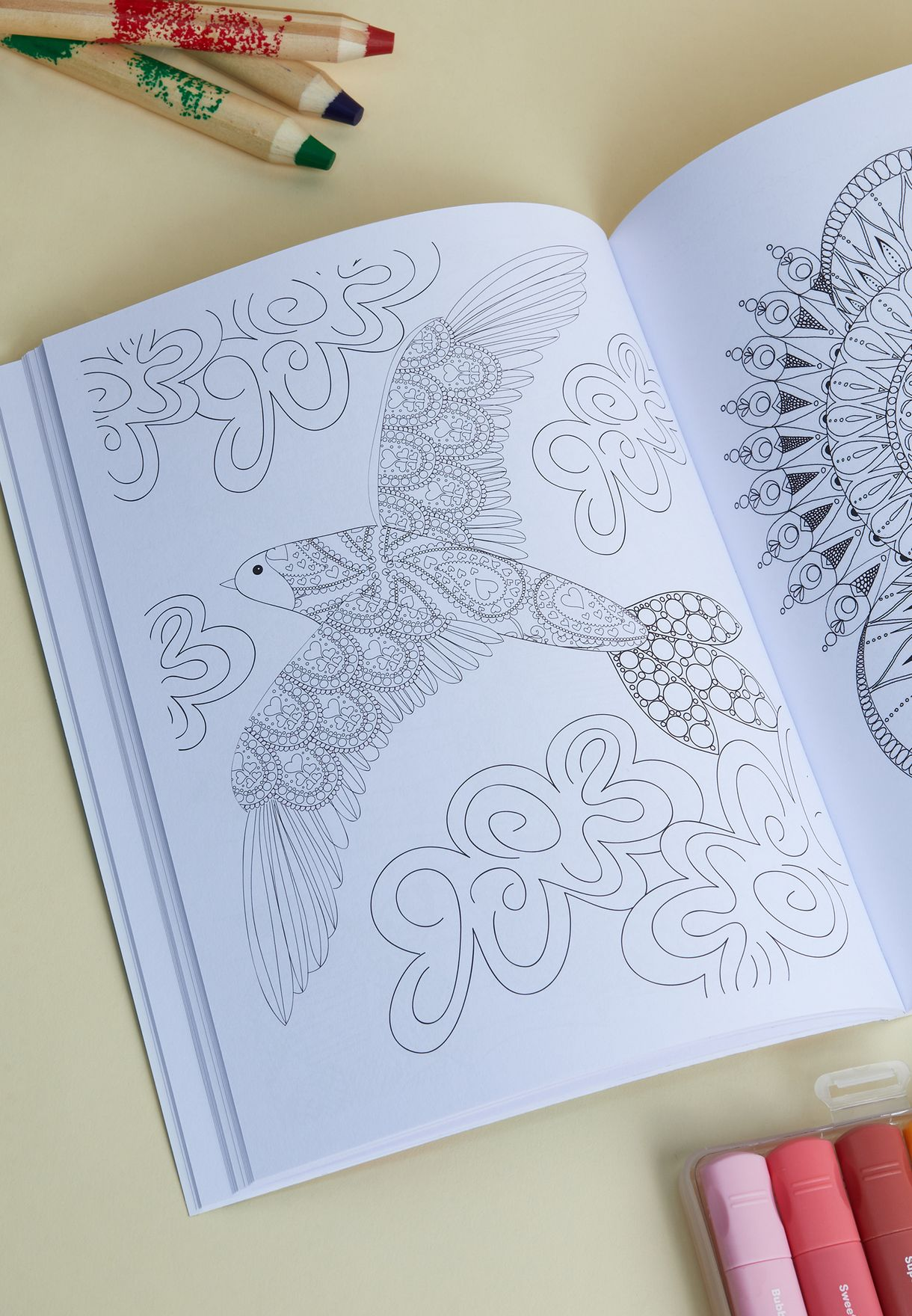 Mindfulness: Serene And Tranquil Colouring