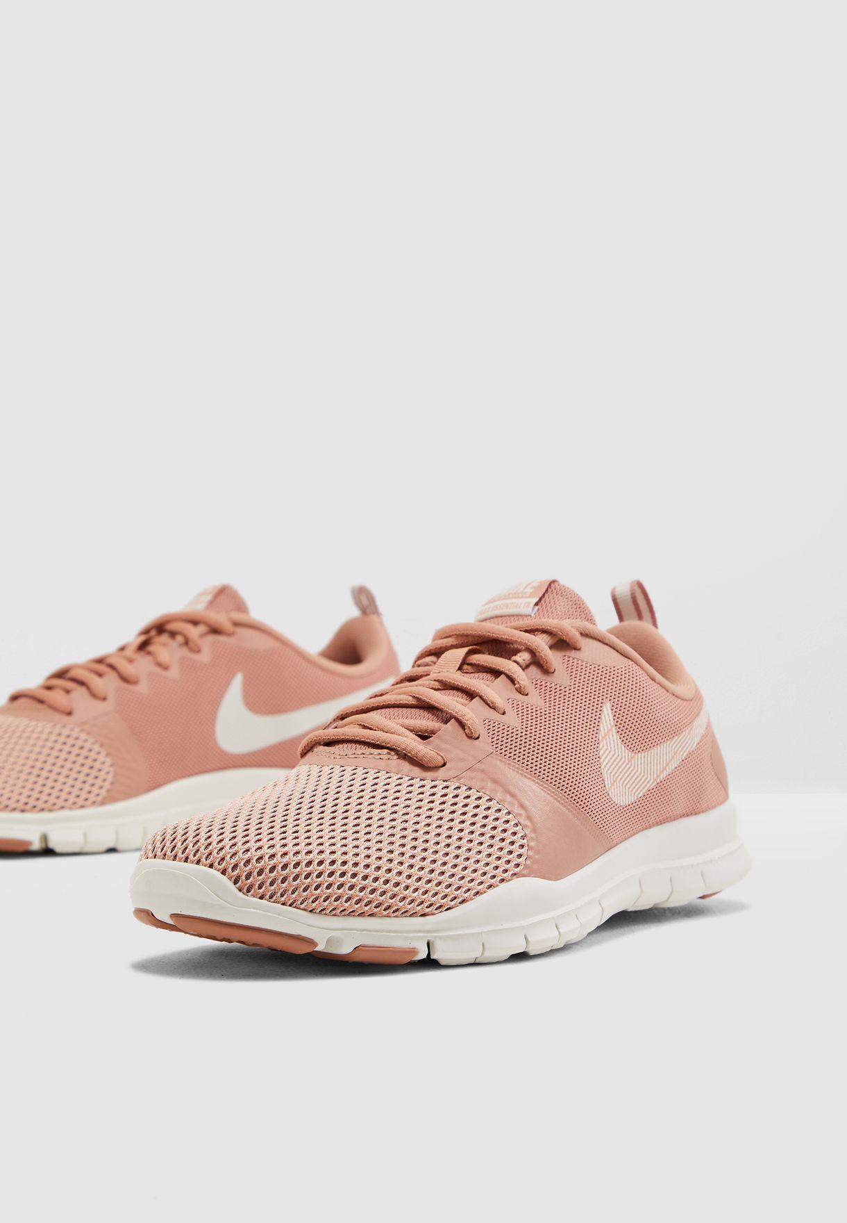 08b3afde9f7 Shop Nike pink Flex Essential TR 924344-604 for Women in UAE ...