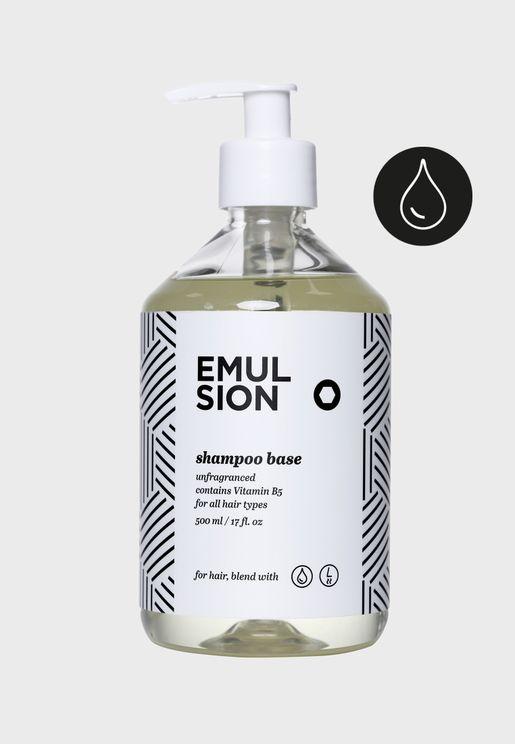 اساس - شامبو غير معطر خالي من كبريتات لوريل الصوديوم - 500 مل