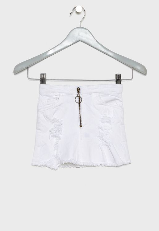 Kids Twill Skirt
