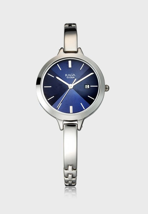 Raga Steel Strap Analog Watch