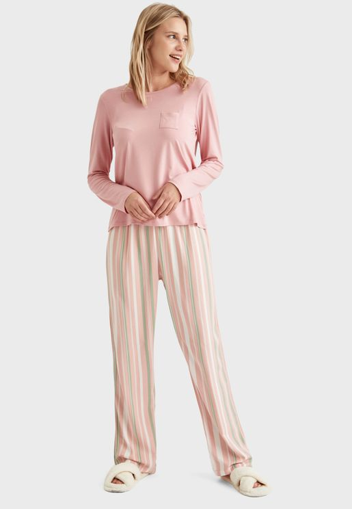 Long Sleeve Top & Pyjama Set