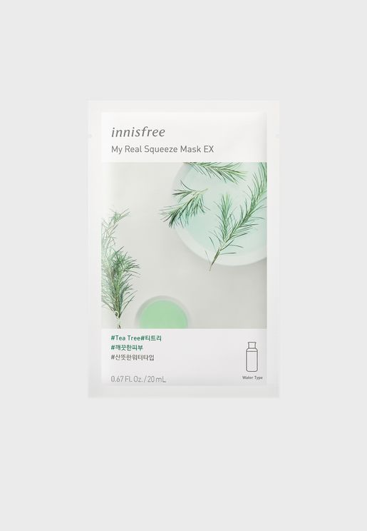 My Real Squeeze Mask [Tea Tree] 20ml