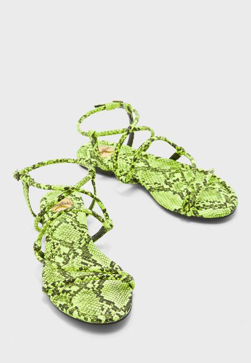 Jolita Flat Sandal