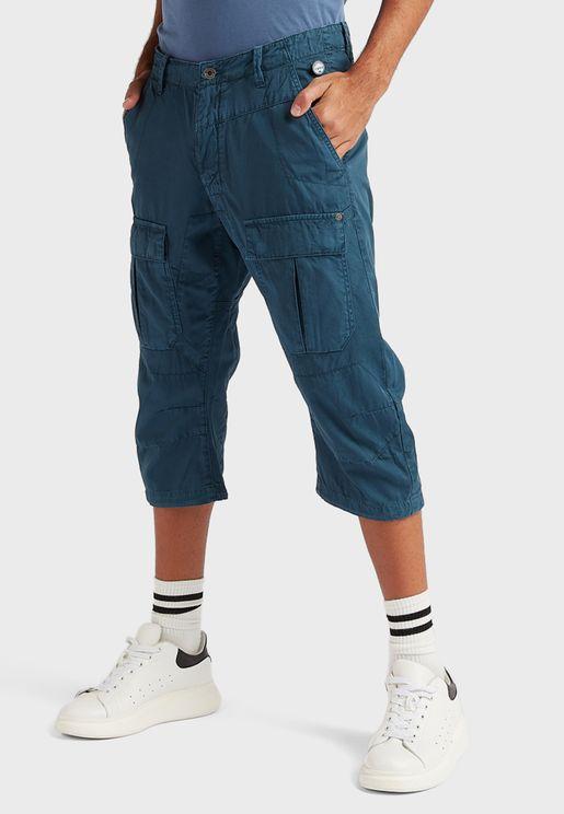 Essential Long Cargo Shorts