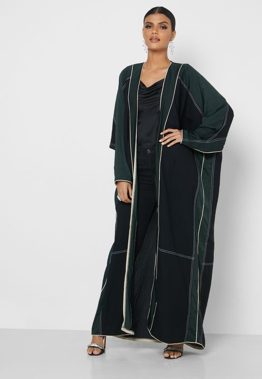 Wide Sleeve Abaya